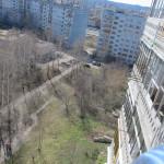 Задний фасад - вид сверху.
